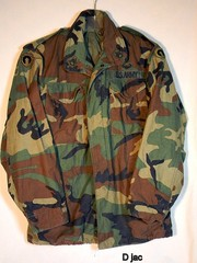 Camo field jacket wanted..trade? 702 373 5062 rio rancho