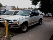 1997 white ford explorer for 1300. with 170 mileage.