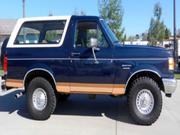 1989 FORD bronco Ford Bronco Eddie Bauer